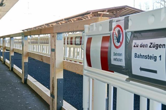 Fernreisezüge sollen weiterhin halten
