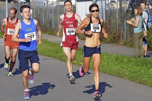 Svenja Abel siegt bei der Landesmeisterschaft mit Streckenrekord