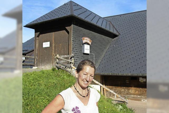Anja Speck verlässt die Höfener Hütte und zieht nach Teneriffa