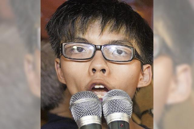 Joshua Wong Chi-fung: Hongkongs junge Hoffnung