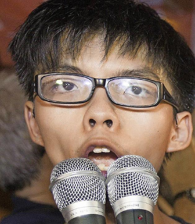 Joshua Wong Chi-fung  | Foto: dpa