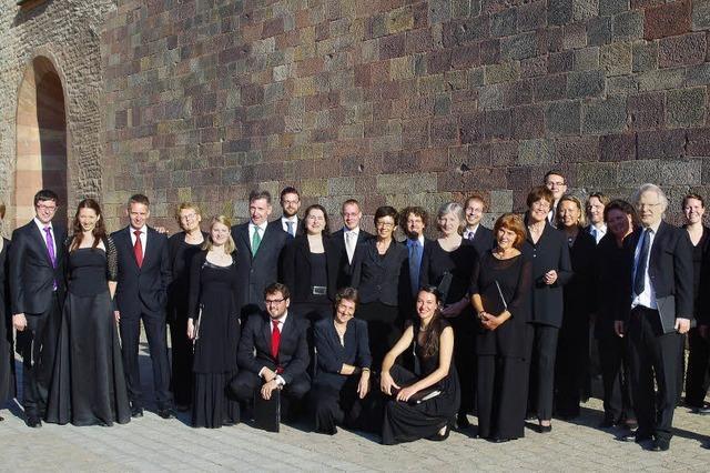 Freiburger Vokalensemble stellt A-cappella-Programm vor
