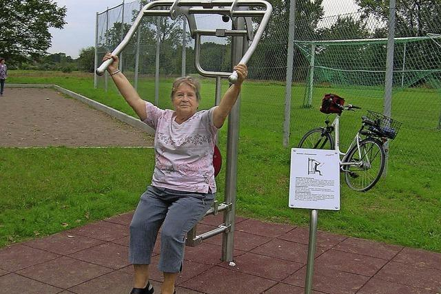 Für Fitness an frischer Luft