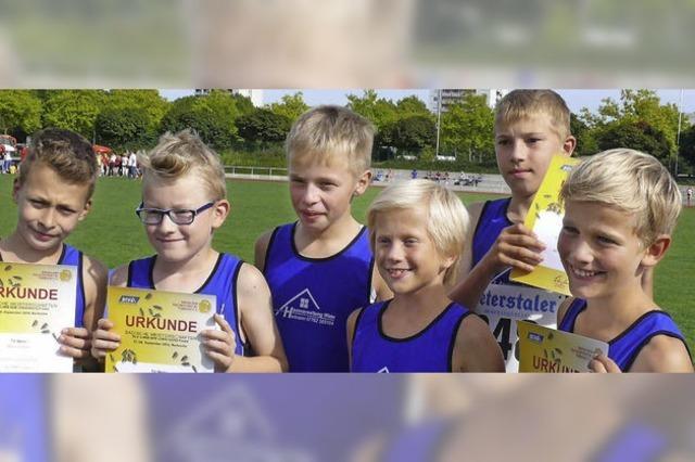 Sechs Medaillen für Oberrheinteams