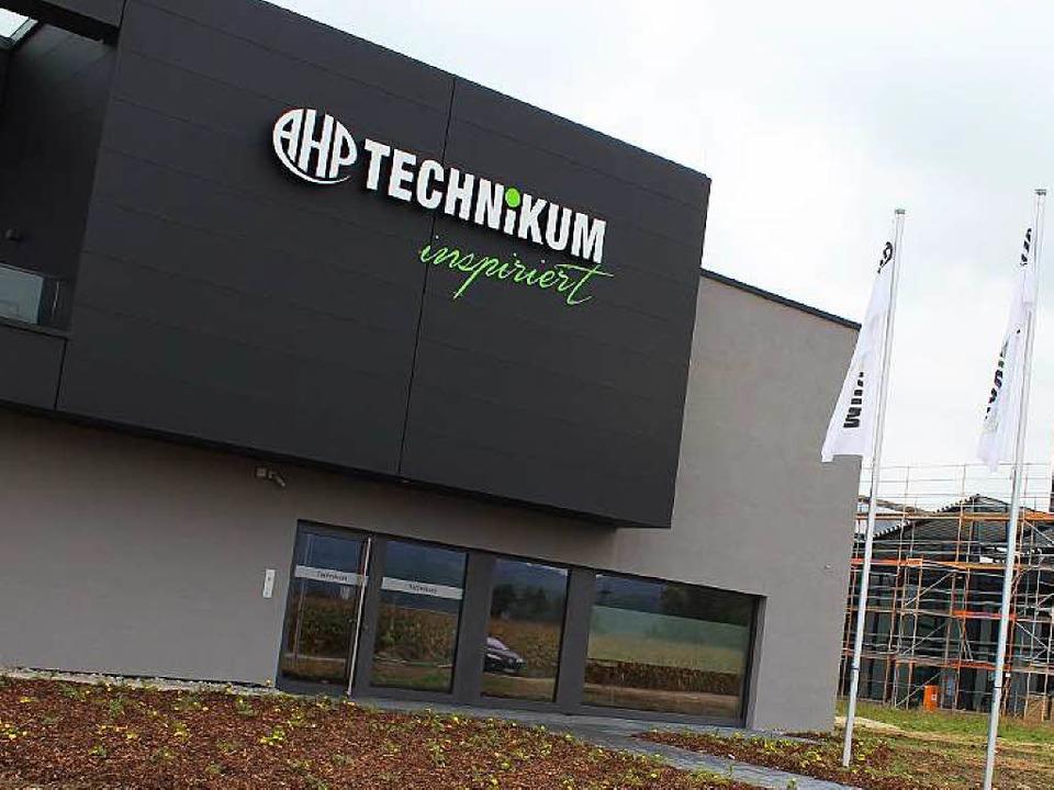 Das neue Technikum und der vergrößerte...n Gebäudeteile   fertiggestellt sein.   | Foto: mario schöneberg