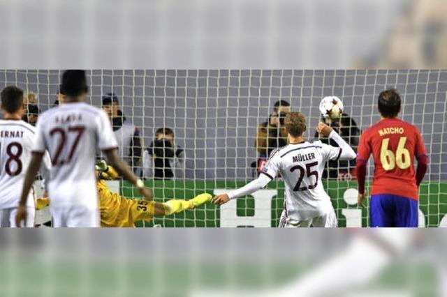 Bayern gewinnt bei Moskau 1:0