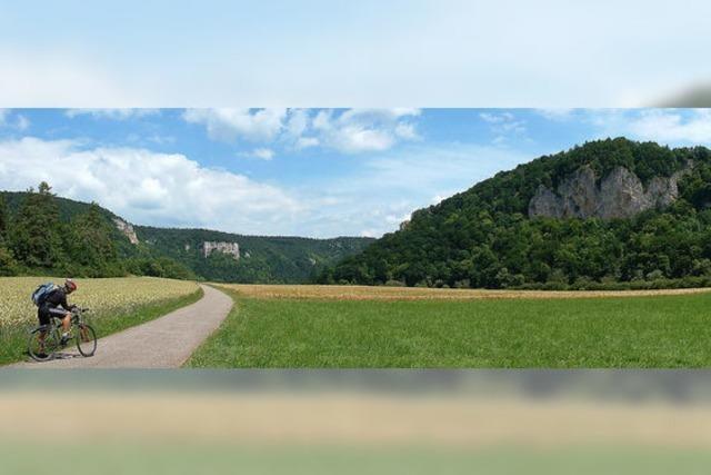 Die kleine Radler-Oase an der Donau