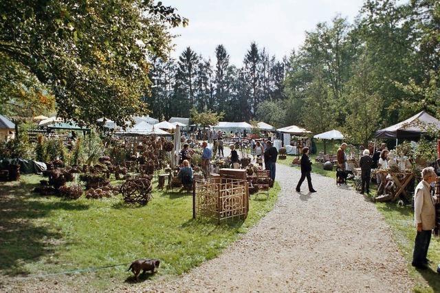 Schloss Bollschweil öffnet zur Herbstgartenmesse seine Pforten