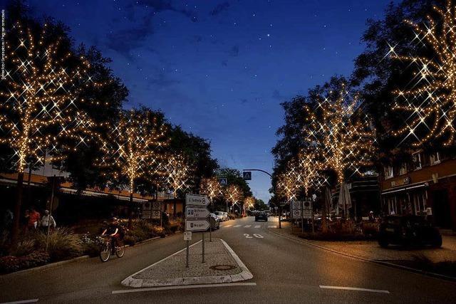 Weil will leuchtende Bäume im Advent – Anlieger sollen zahlen