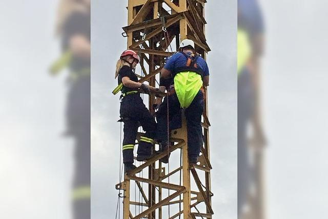 Rettung aus großen Höhen und Tiefen