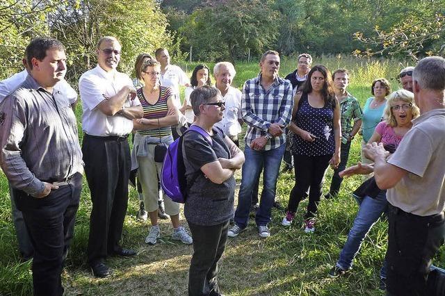 Plobsheim und Altenheim pflegen ihre Kontakte