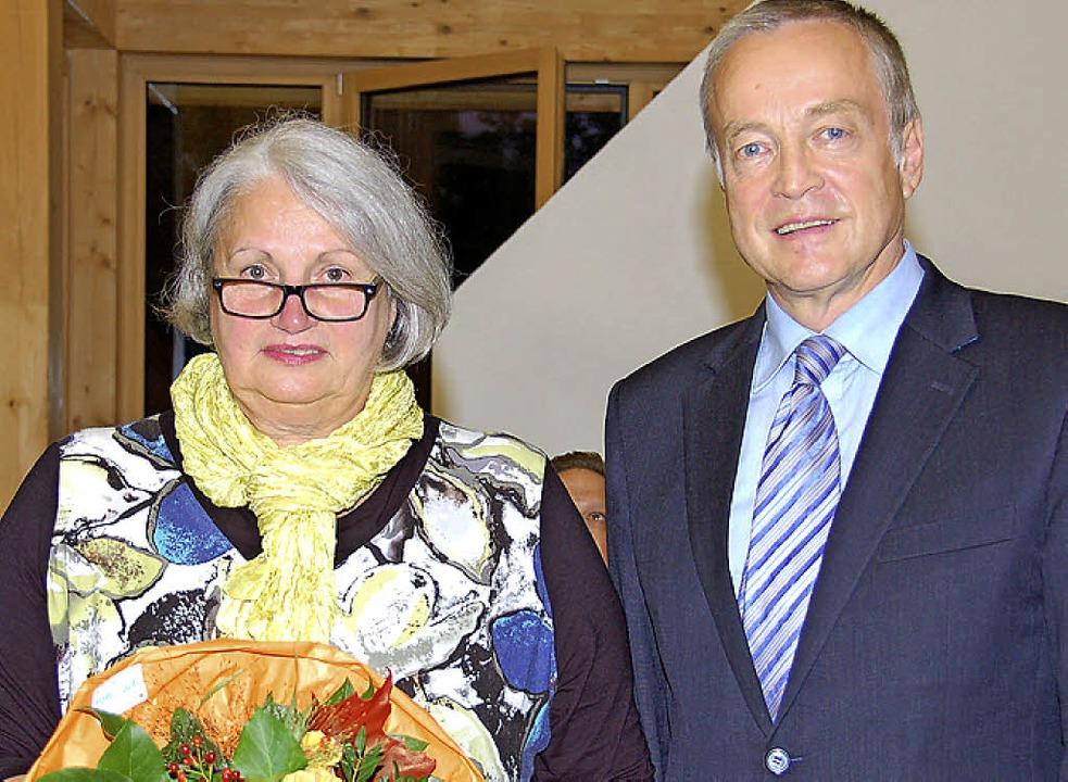 Irmgard Kopp-Boschert verabschiedet  | Foto: Andrea Steinhart