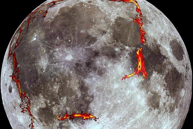 Forscher enträtseln den Mann im Mond