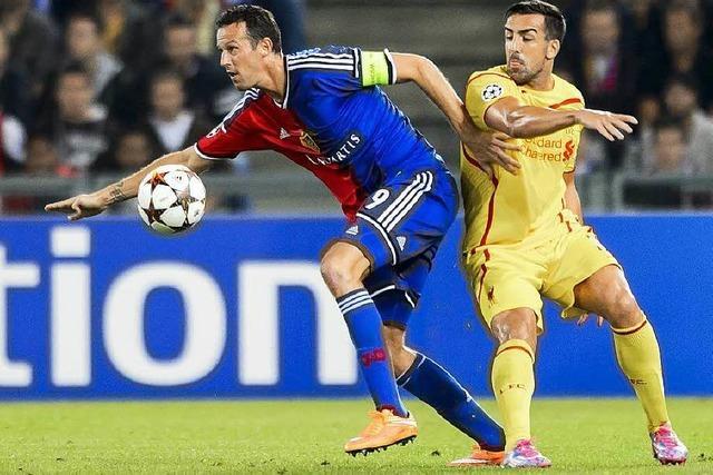 FC Basel gewinnt gegen FC Liverpool 1:0