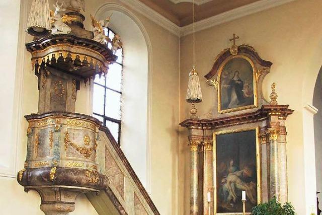 Der Holzwurm nagt am Kirchenschiff von St. Leodegar