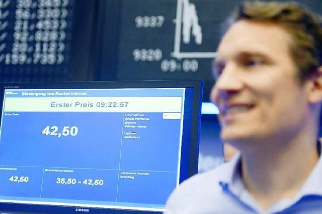 Bauchlandung für Rocket Internet bei Börsengang
