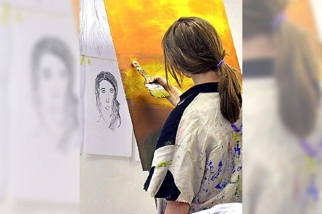 Kunstschule gibt den schöpferischen Kräften Raum