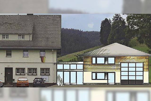 Anbau und Bürgersaal für die Ornemer