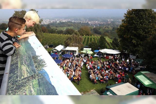 Kaiserbergfest bei Kaiserwetter