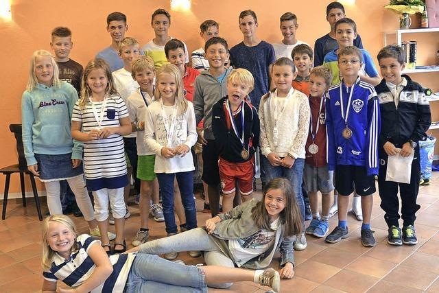 Tennisjugend ermittelt ihre Clubmeister