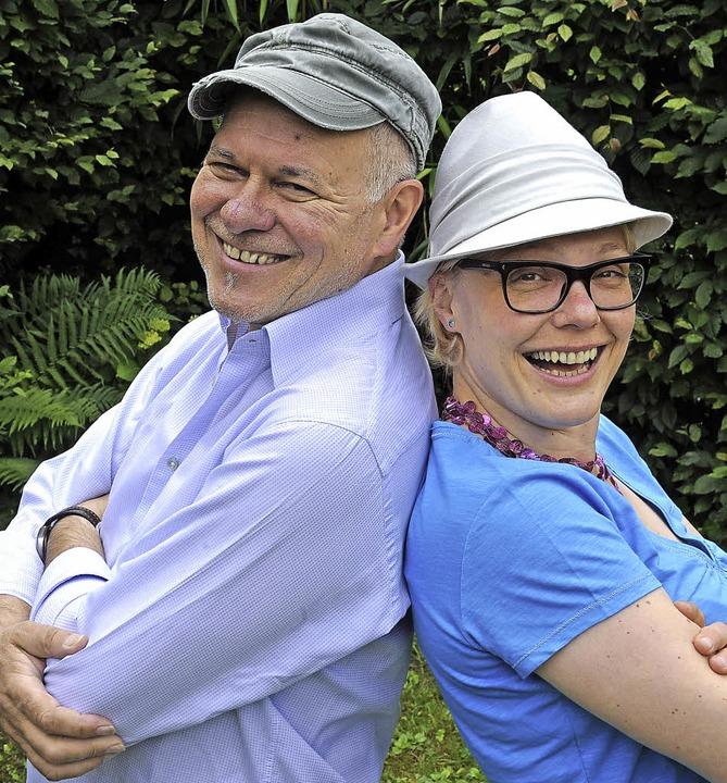 Heinz Siebold und Ulrike Derndinger so...hts) für kulinarische Köstlichkeiten.   | Foto: Privat/John
