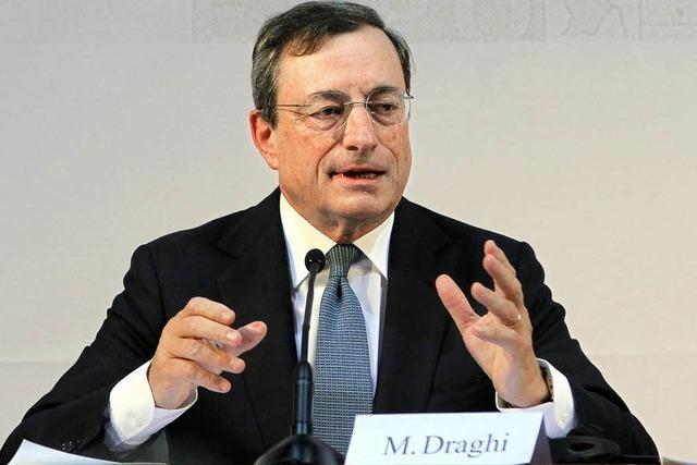 Chef der Europäischen Zentralbank startet unorthodoxes Konjunkturprogramm