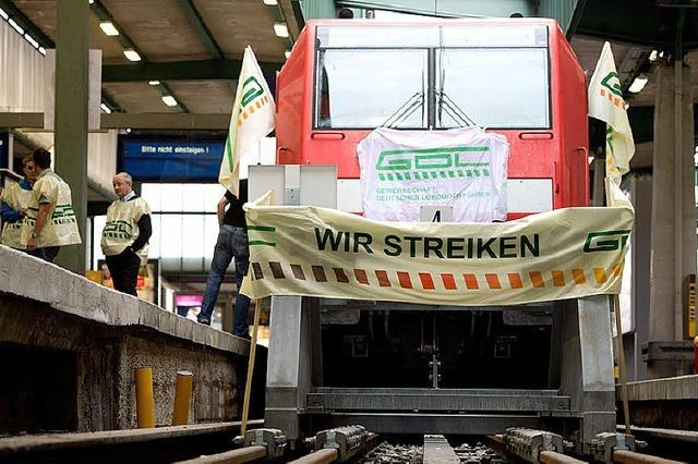 Chef der Lokführergewerkschaft attackiert die Deutsche Bahn