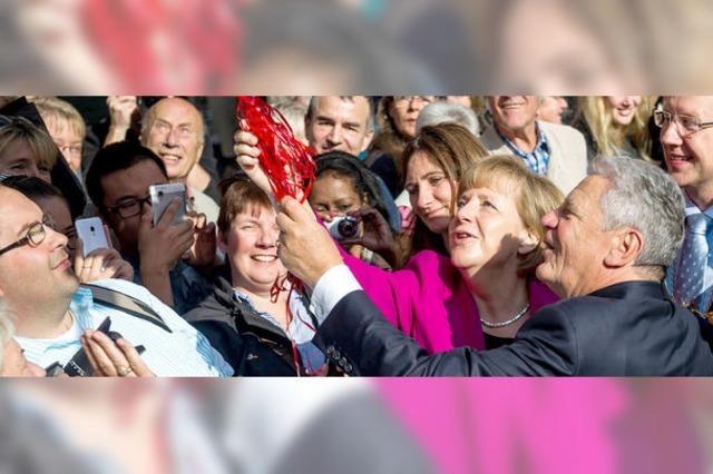 Merkel lobt bunte Landschaften