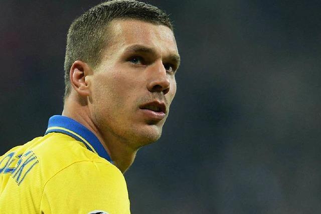 Podolski plant seinen Abgang von Arsenal London