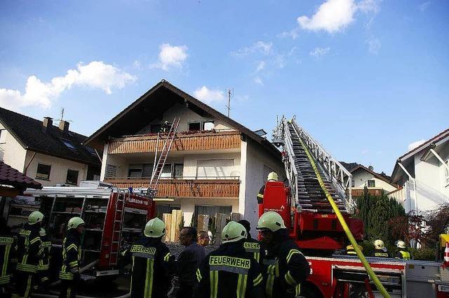 Wohnhausbrand in Oberwinden