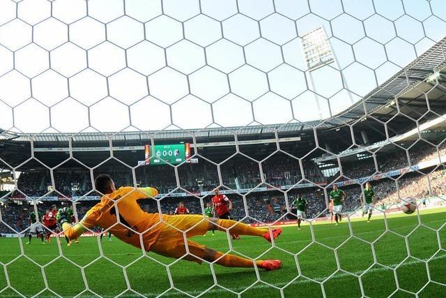 SC Freiburg holt einen Punkt bei Werder Bremen