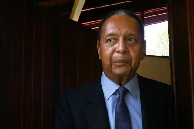 Haitis ehemaliger Präsident Duvalier gestorben