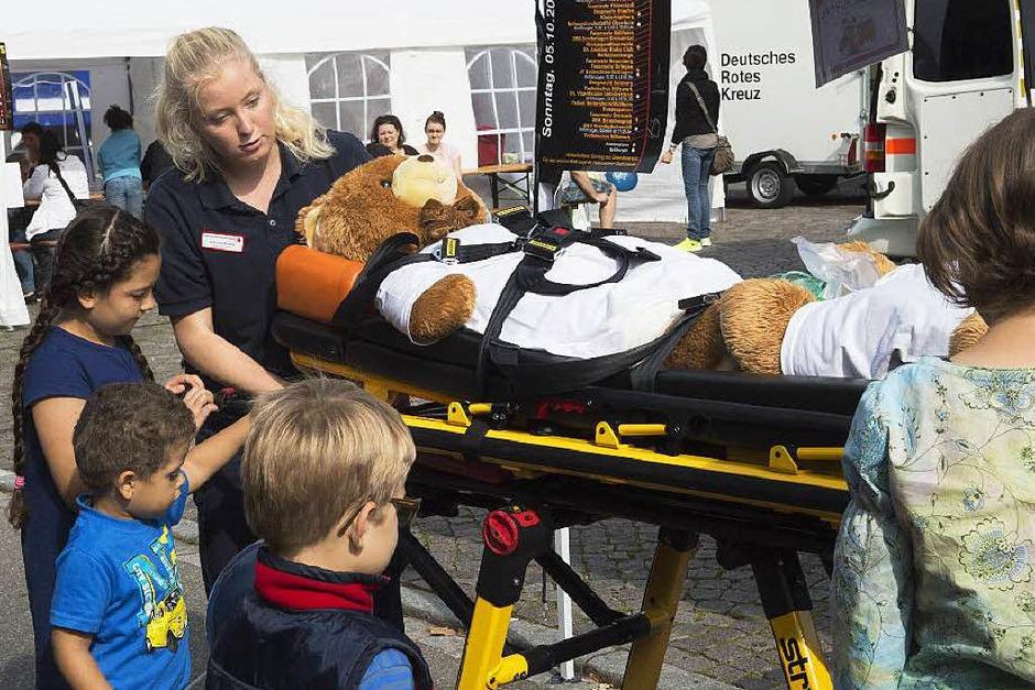 Patiententransport zum Bärenhospital. (Foto: Volker Münch)