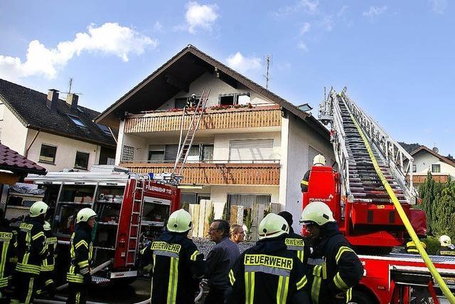 Wohnungsbrand in Oberwinden zügig unter Kontrolle gebracht