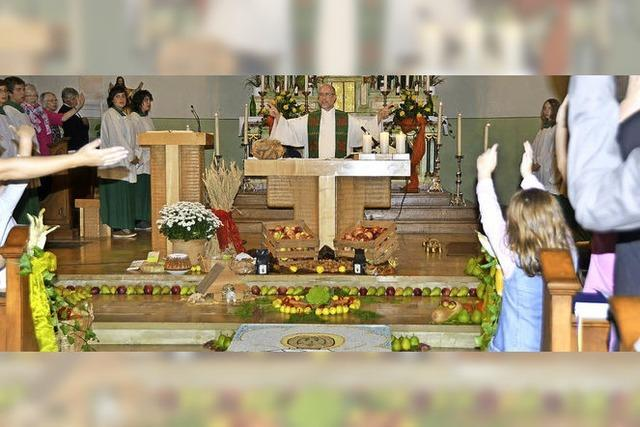 Viele gute Wünsche zum ersten Gottesdienst