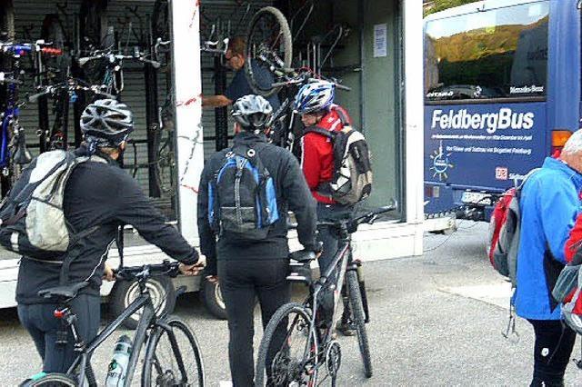 Gefragte Fahrrad-Busse