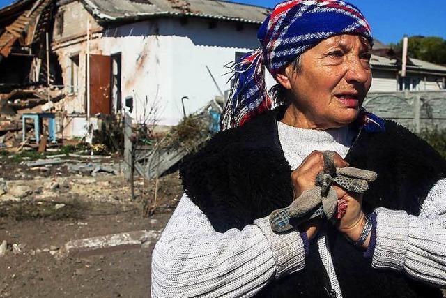 Bundesregierung schickt Hilfskonvoi in die Ostukraine