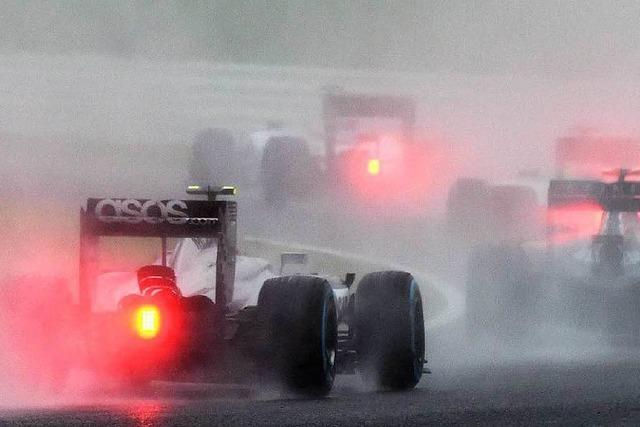 Bangen um Jules Bianchi nach dem schwerem Unfall