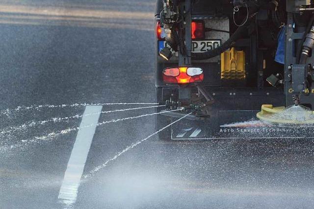 Winterdienst: Mehr Salz auf weniger Straßen in Freiburg