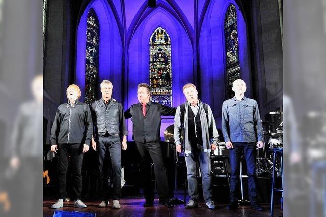 Die Prinzen begeistern in der Emmendinger Stadtkirche
