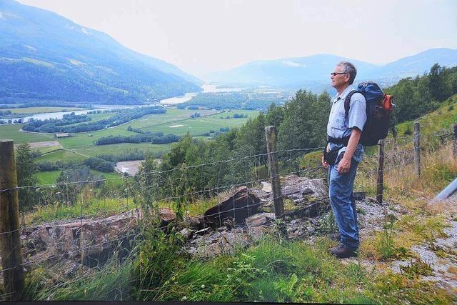 Pilgern in Norwegen zum Grab von König Olav