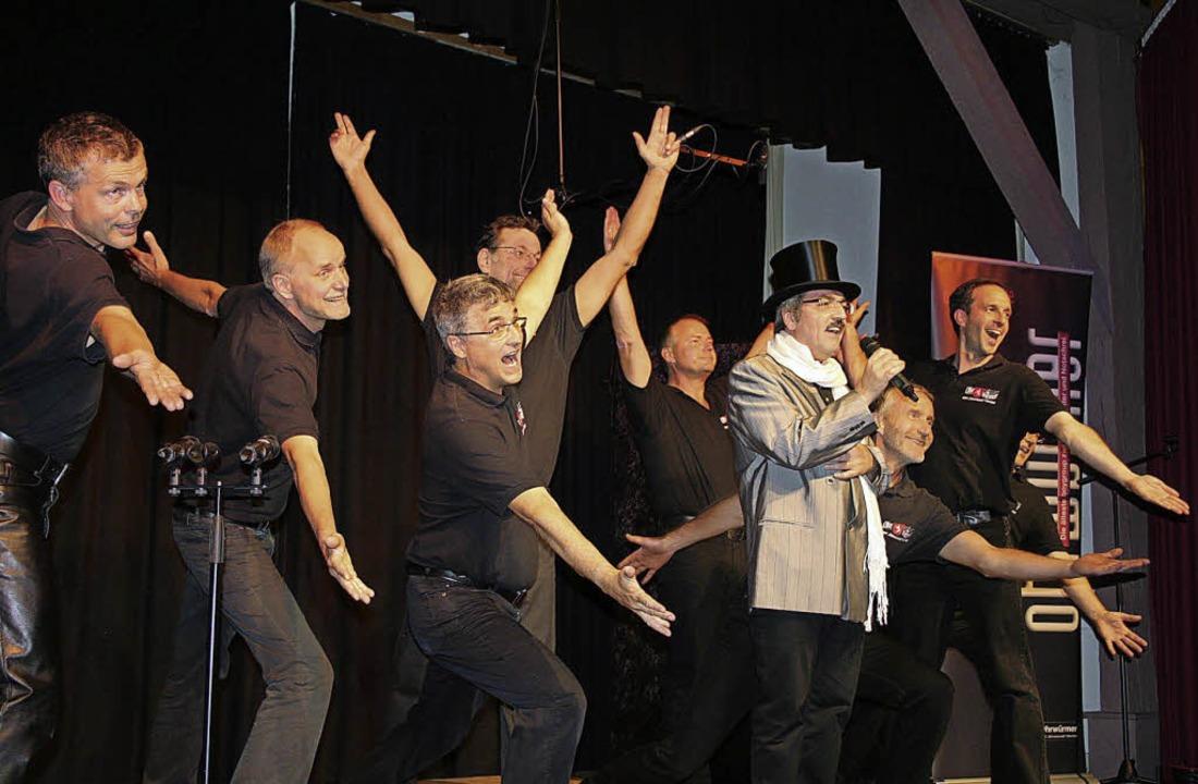 Mit viel Humor, einer gesunden Portion...n Publikum im Bürgersaal in Bleibach.   | Foto: Karin Heiss