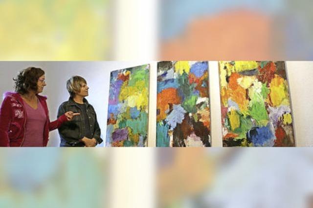 Von der Betrachterin zur Malerin
