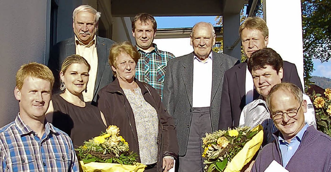 Bürgermeister Andreas Wießner (oben re...chts) und Ralf Hablitzel (unten links)  | Foto: Ulrike Jäger