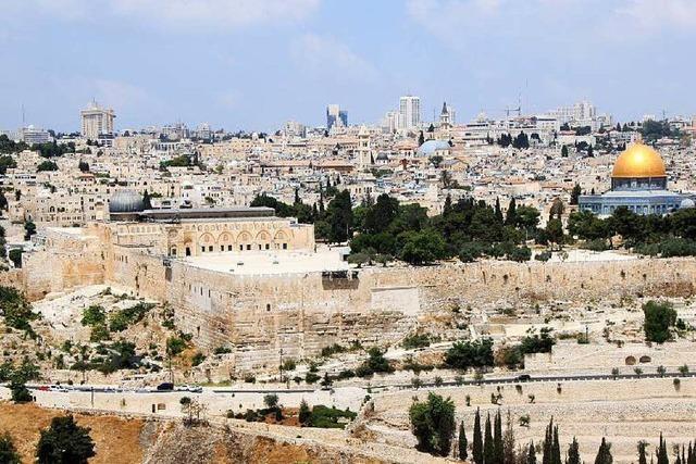 In Jerusalems Altstadt fühlt er sich relativ sicher