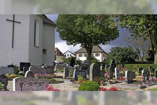 Bestattungsgebühren gehen direkt an die Gemeinde