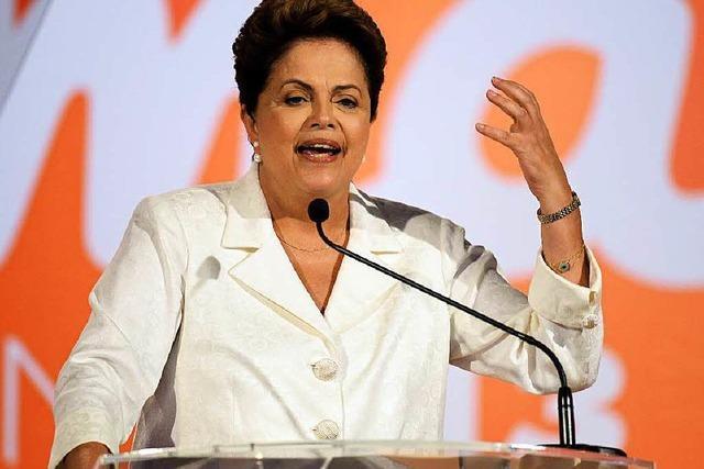 Warnschuss für Brasiliens Präsidentin Dilma Rousseff