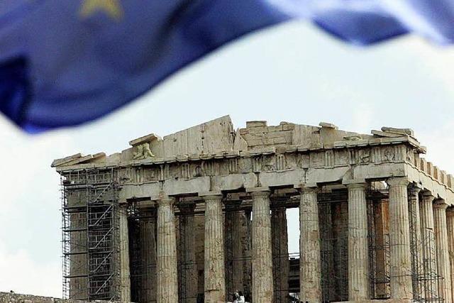 Akropolis adieu? Wahrzeichen droht zu zerbröseln