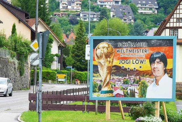 Wie Schönau WM-Trainer Jogi Löw empfangen will