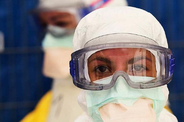 Krankenschwester steckt sich in Spanien mit Ebola an